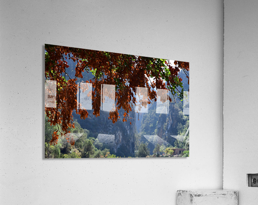 Akchour  Impression acrylique