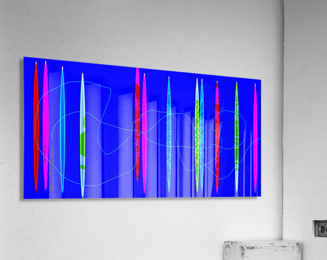 HorizonBlue  Acrylic Print