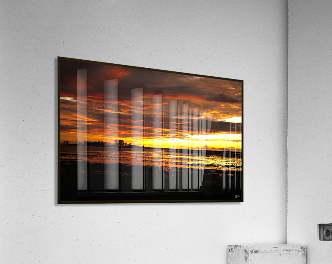 granite belt sunset  Acrylic Print