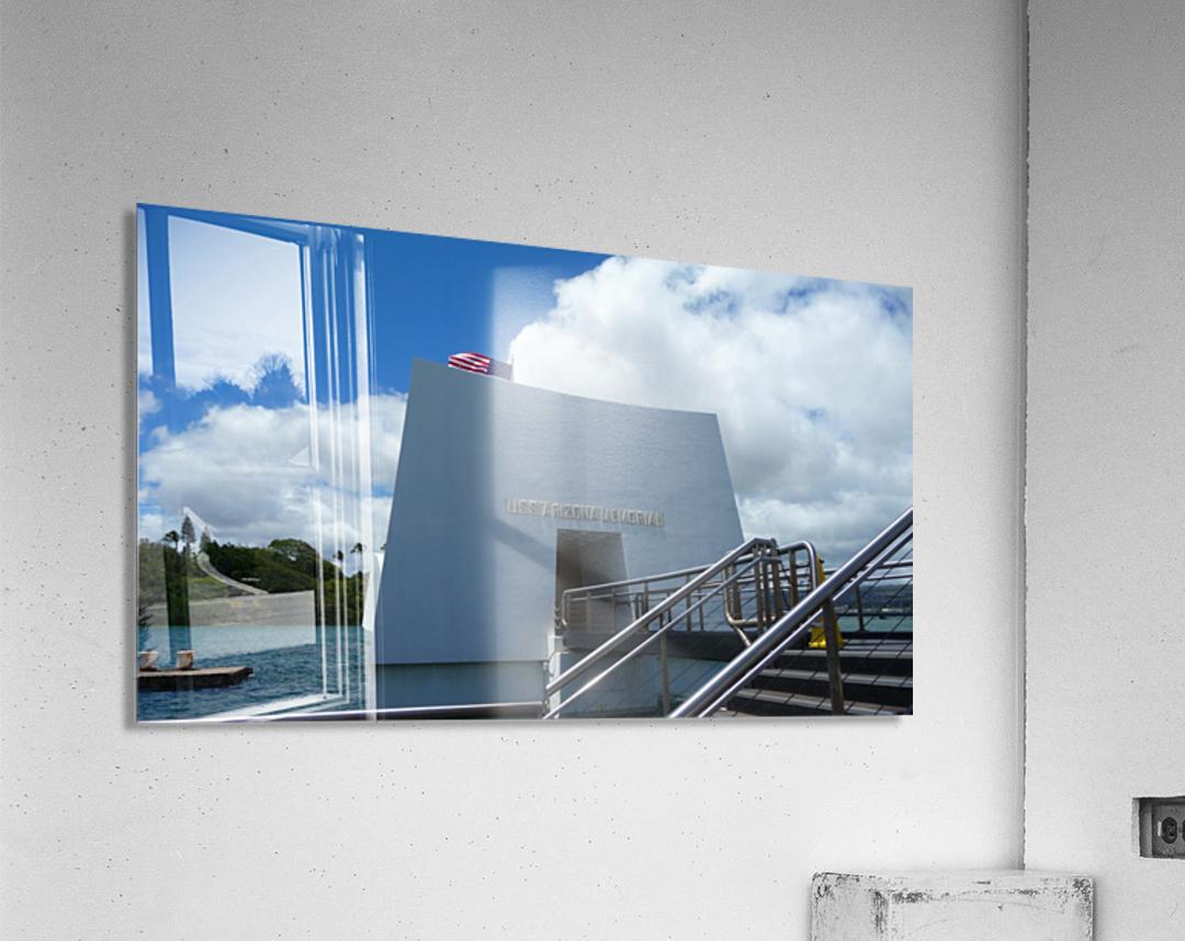 USS Arizona Memorial Hawaii  Acrylic Print