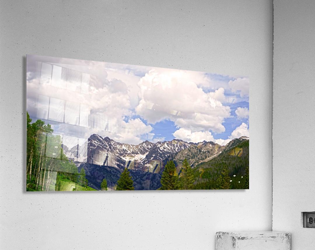 White River Country Colorado  Acrylic Print