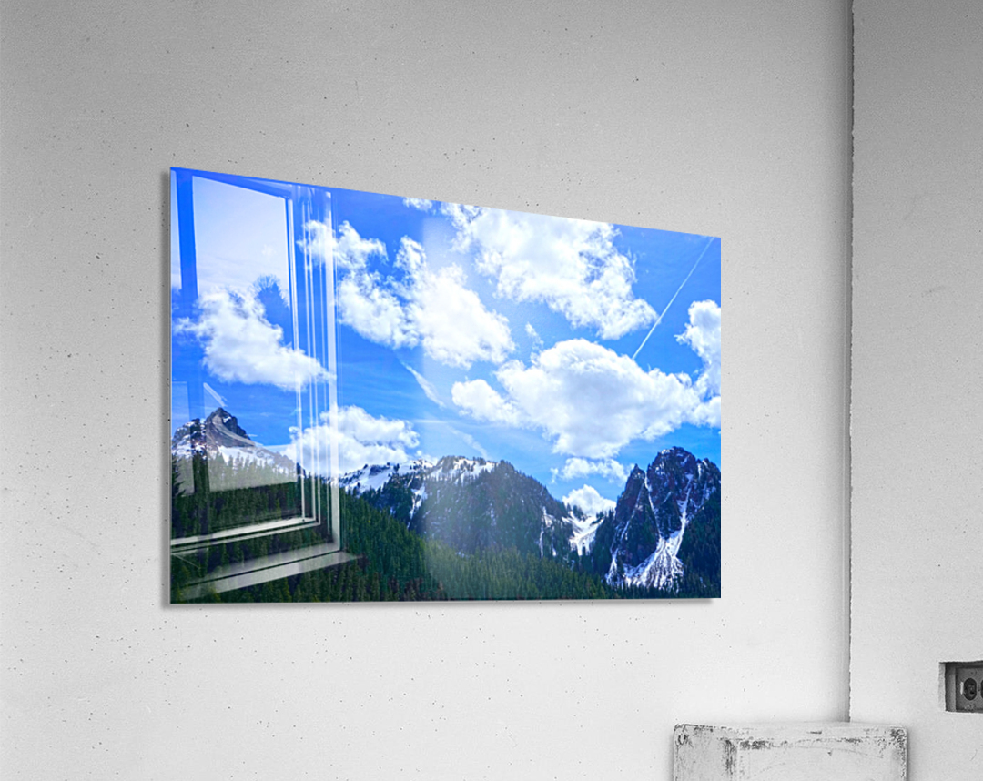 In the Cascade Mountains  Acrylic Print