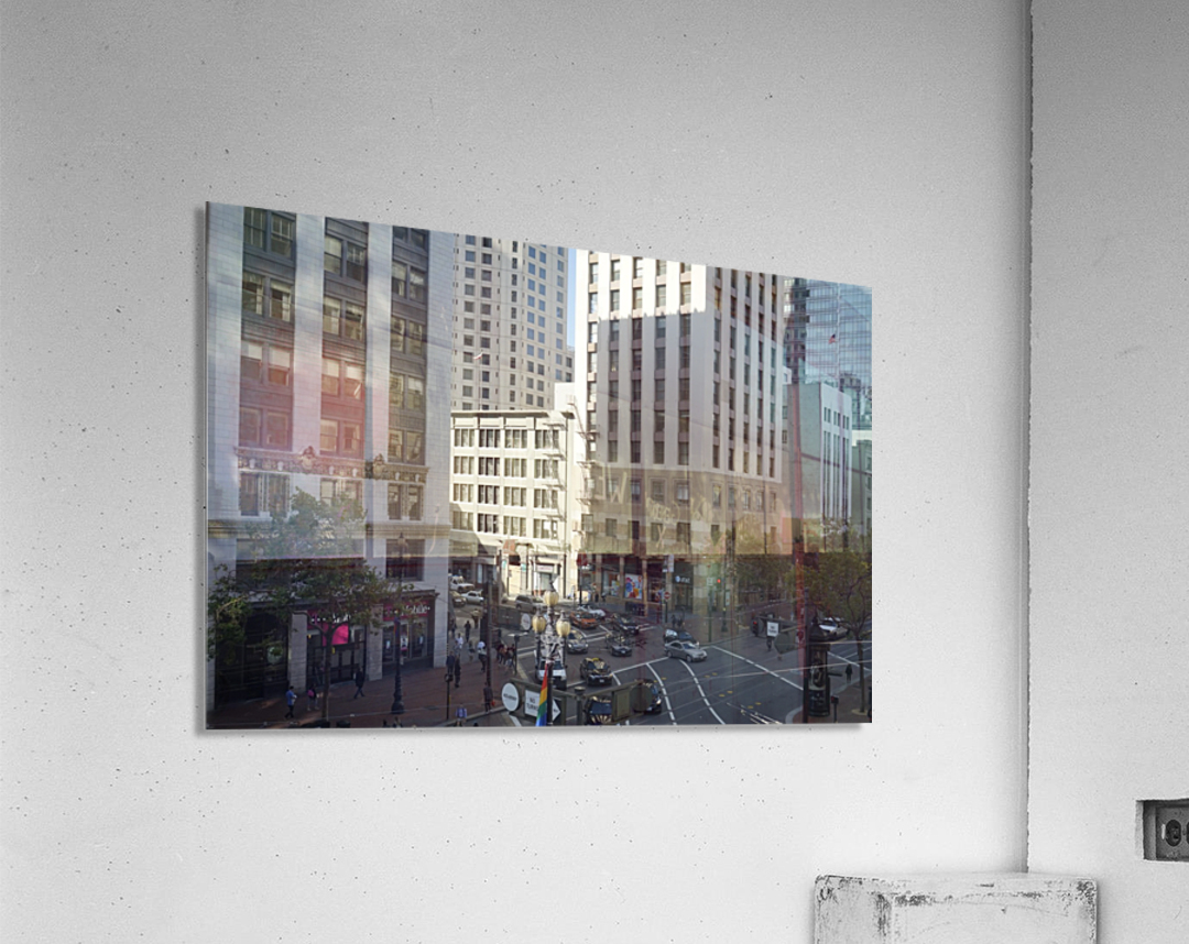 Snapshot in Time @ San Francisco Financial District  Acrylic Print
