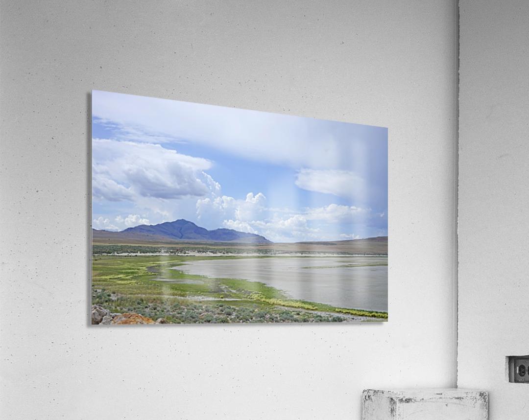 The Great Salt Lake 3 of 7  Acrylic Print