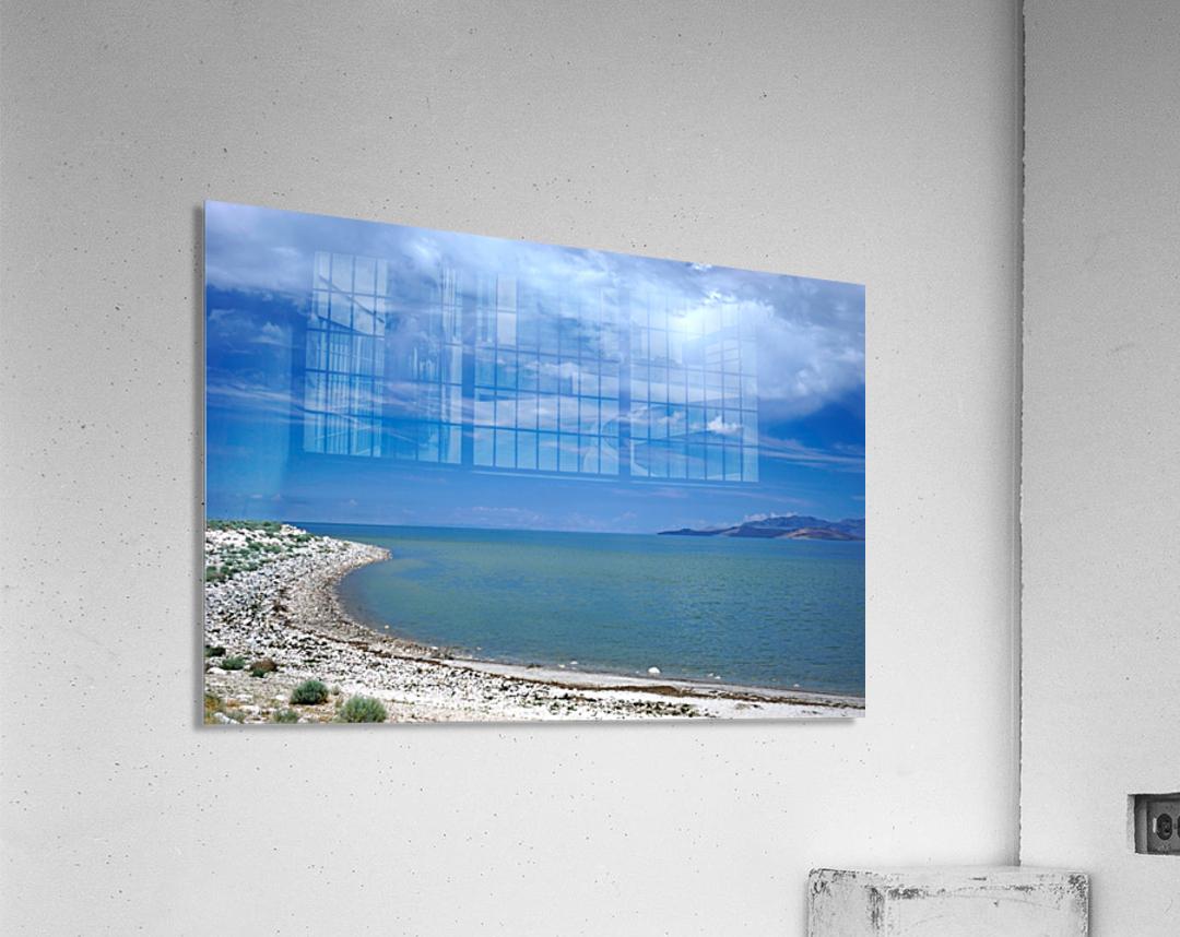 The Great Salt Lake 6 of 7  Acrylic Print