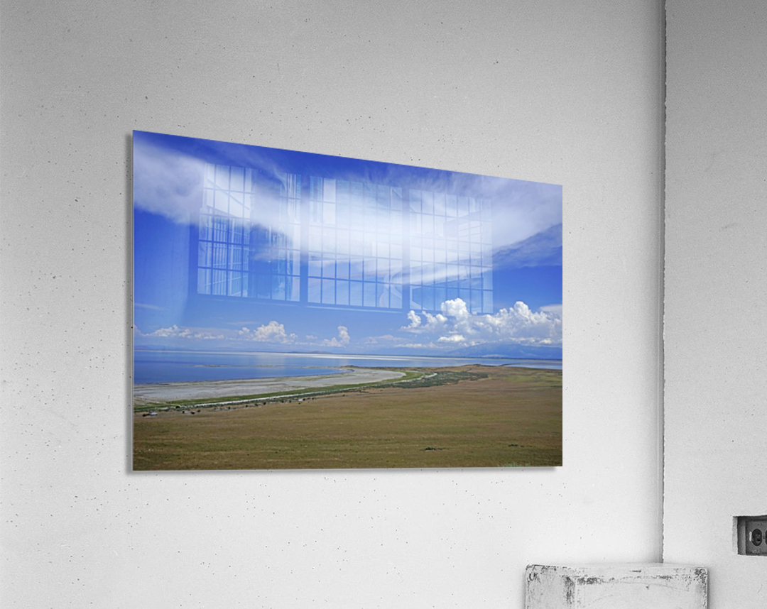 The Great Salt Lake 7 of 7  Acrylic Print