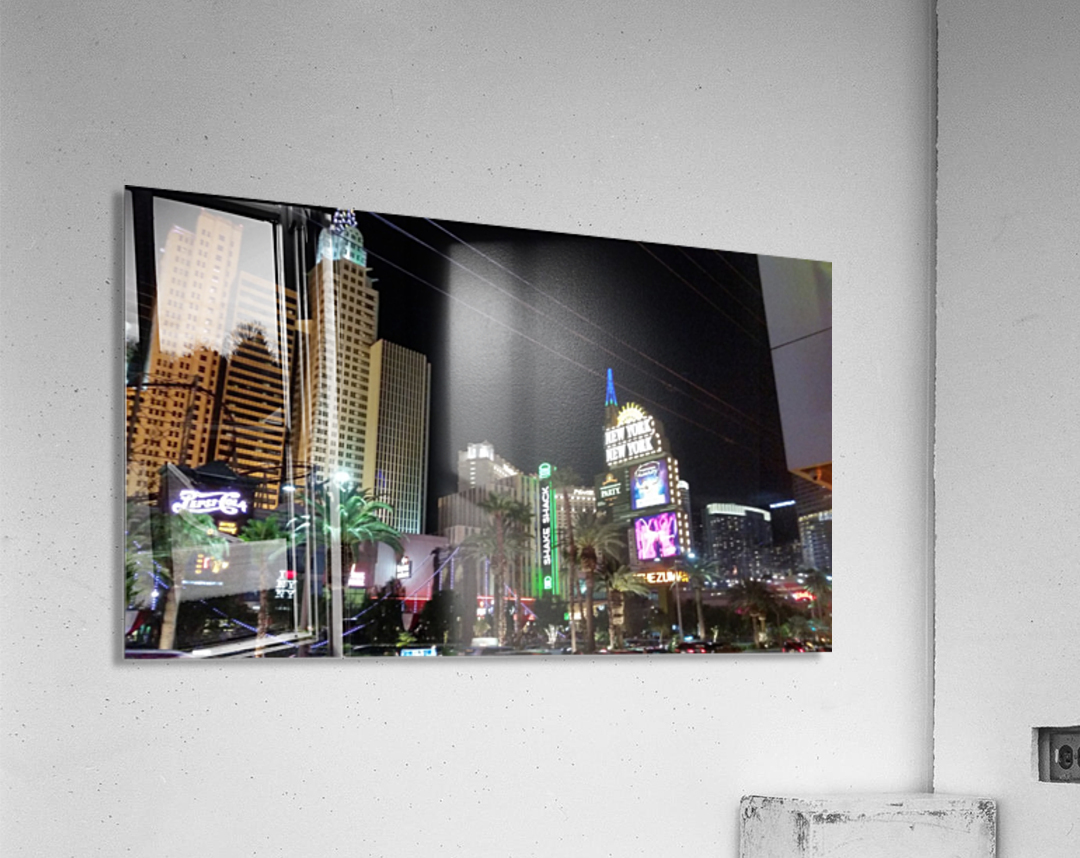 Viva Las Vegas 2  Acrylic Print