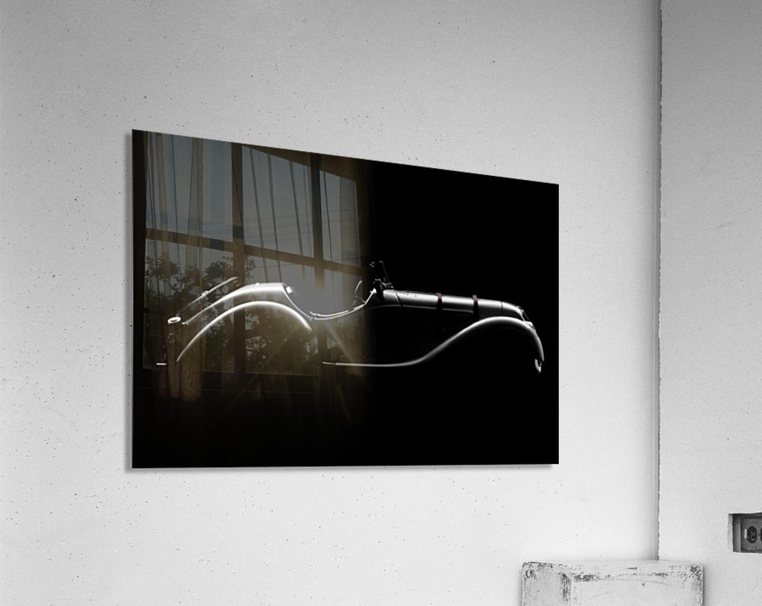 Silhouette by Alvaro Perez   Acrylic Print