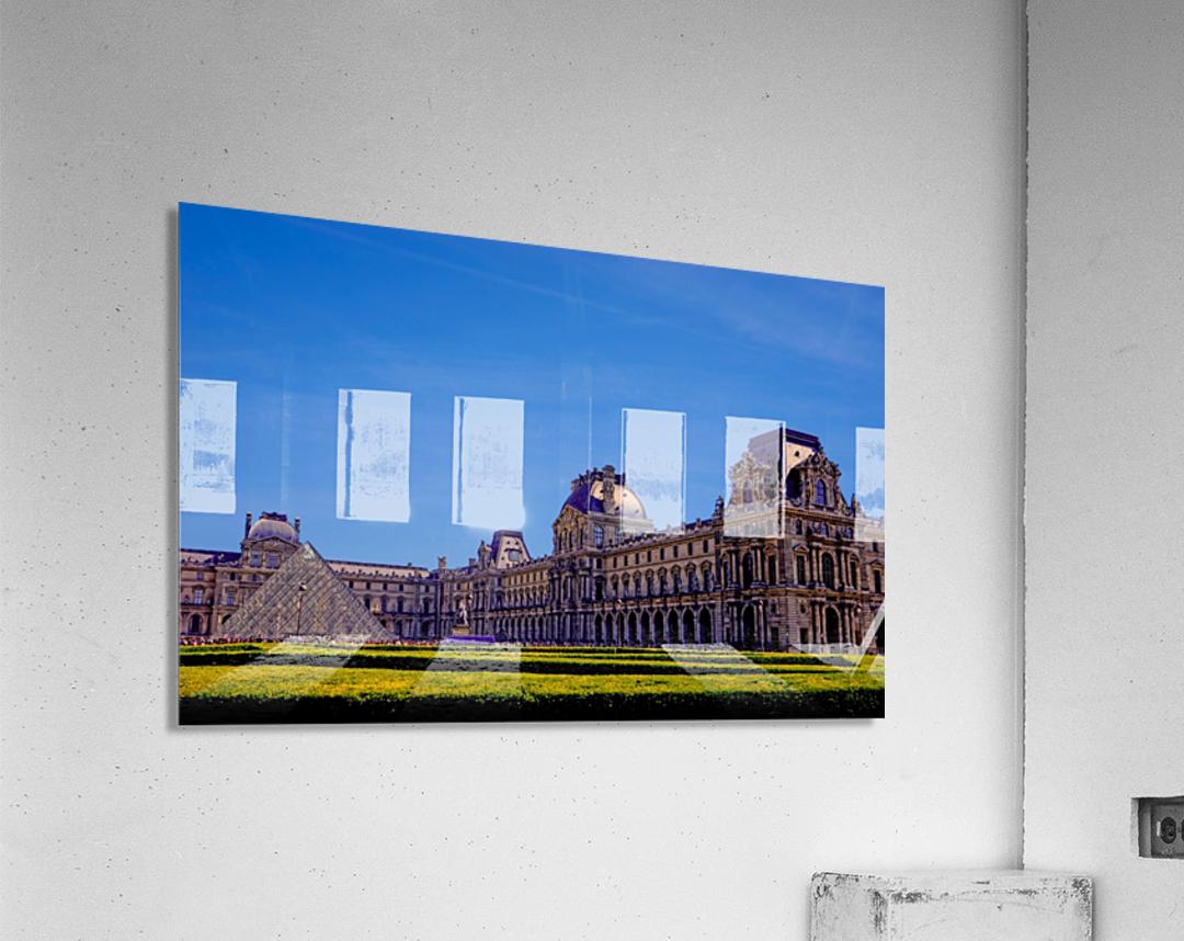 The Louvre Paris 1st Arrondissement Paris  Acrylic Print