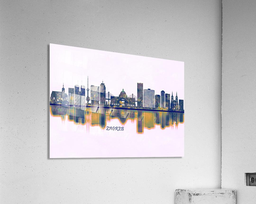 Zagreb Skyline  Acrylic Print