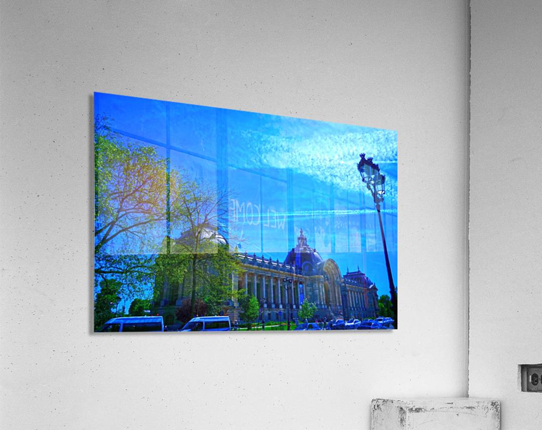 Petit Palais 8th Arrondissement Paris  Acrylic Print