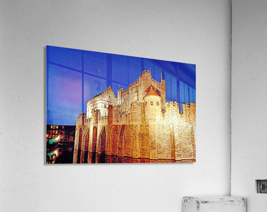 Castle of the Counts Belgium  Acrylic Print