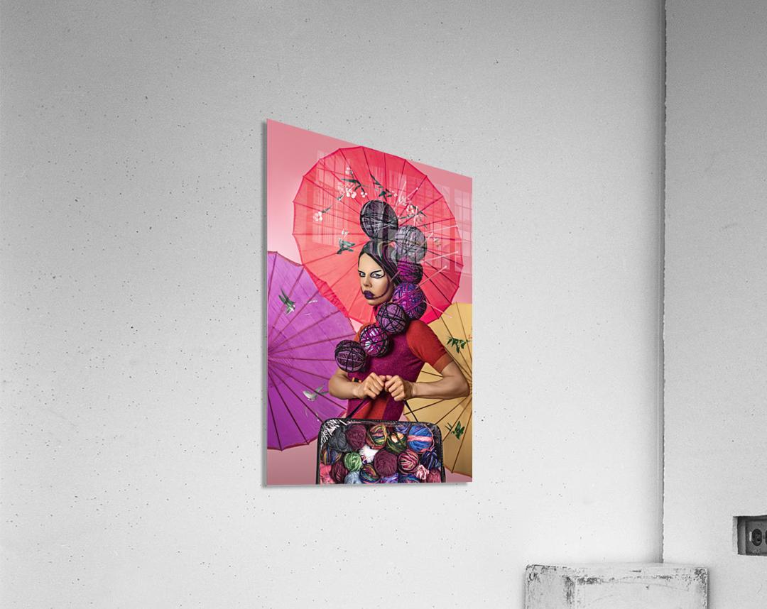 Knit I  Acrylic Print