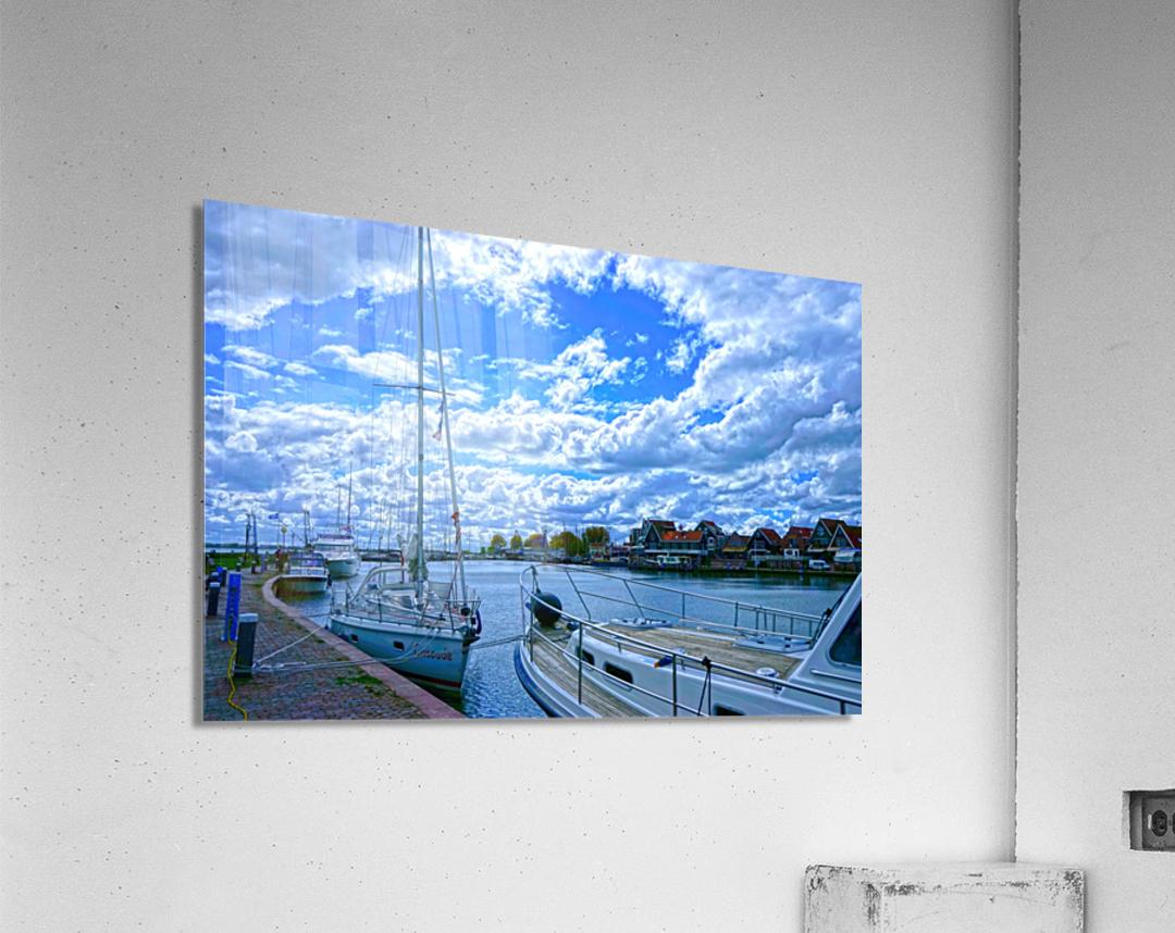 Inland Harbor Netherlands 2 of 5  Acrylic Print