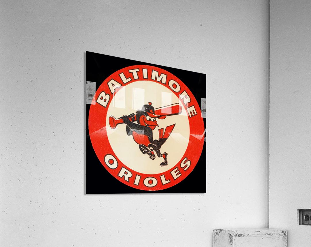 1960s Baltimore Orioles Art  Acrylic Print