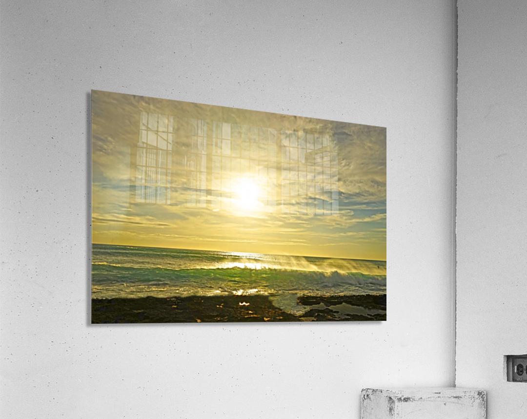 Splash - Sunset Hawaii  Acrylic Print