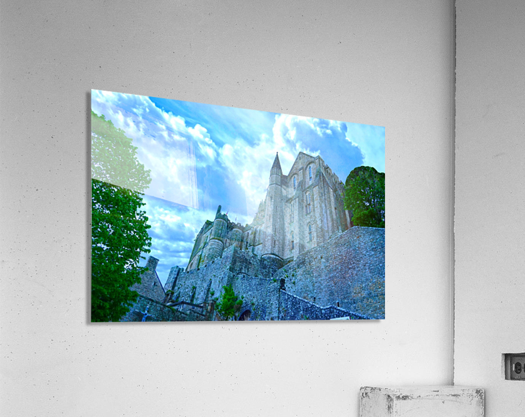 A Day at Mont Saint Michel 9 of 12  Acrylic Print