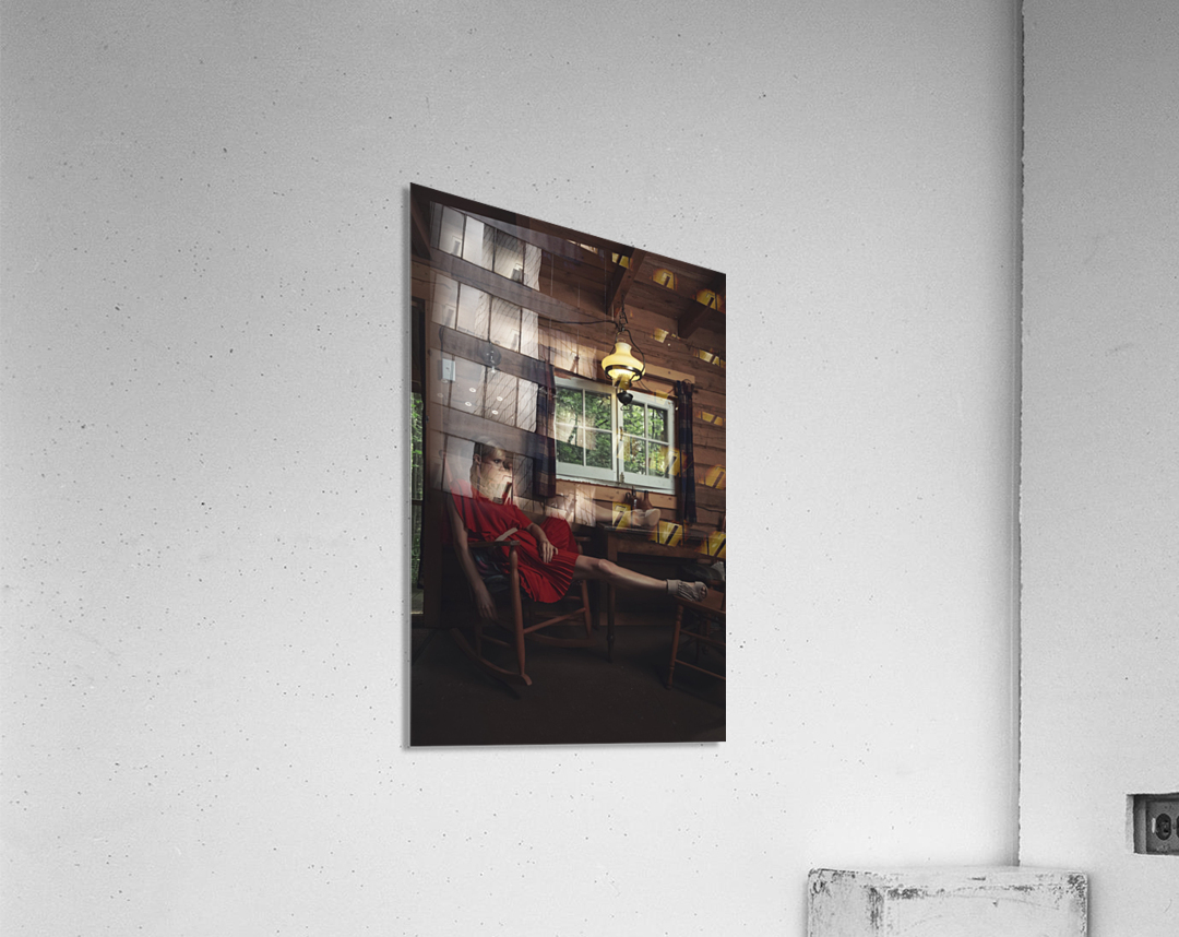 Chic Shack V  Acrylic Print