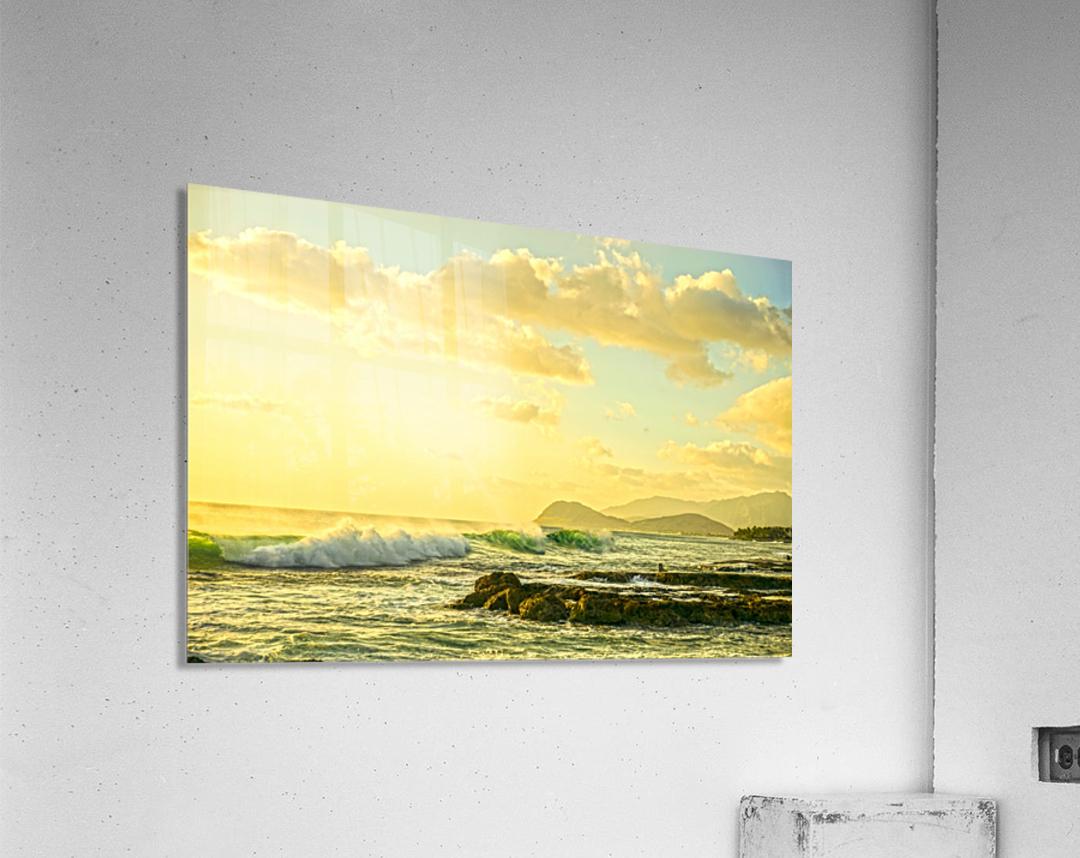 Perfect Day - Sunset Hawaiian Islands  Acrylic Print