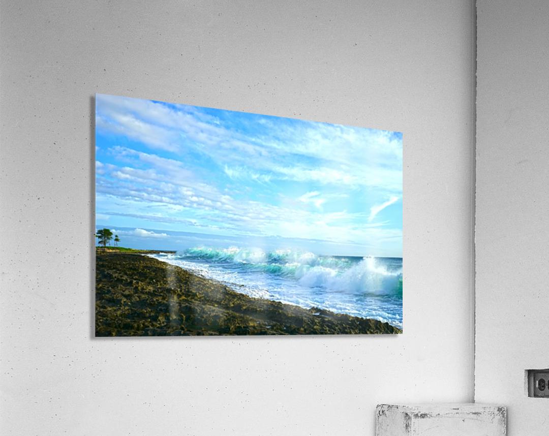 Blue Day - Hawaiian Islands  Acrylic Print