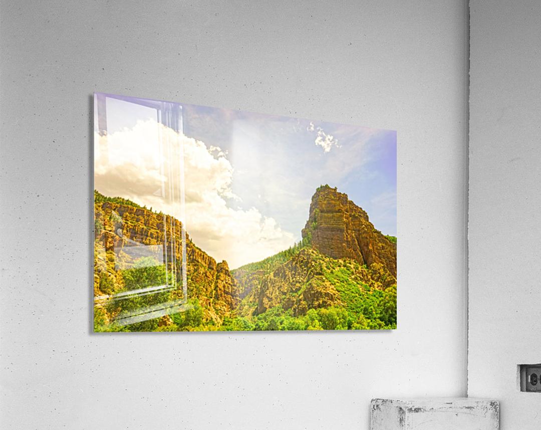 Golden Colorado  Acrylic Print