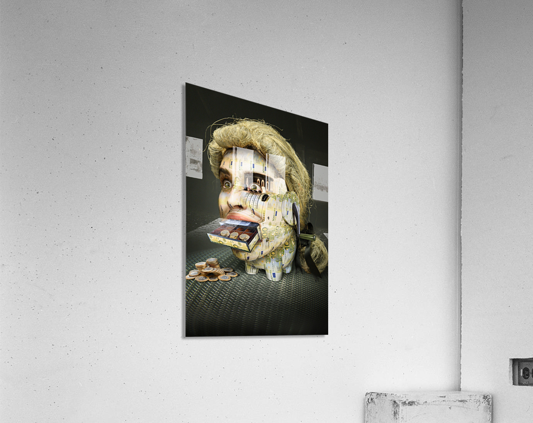 The Miser Molier by DDiArte    Acrylic Print