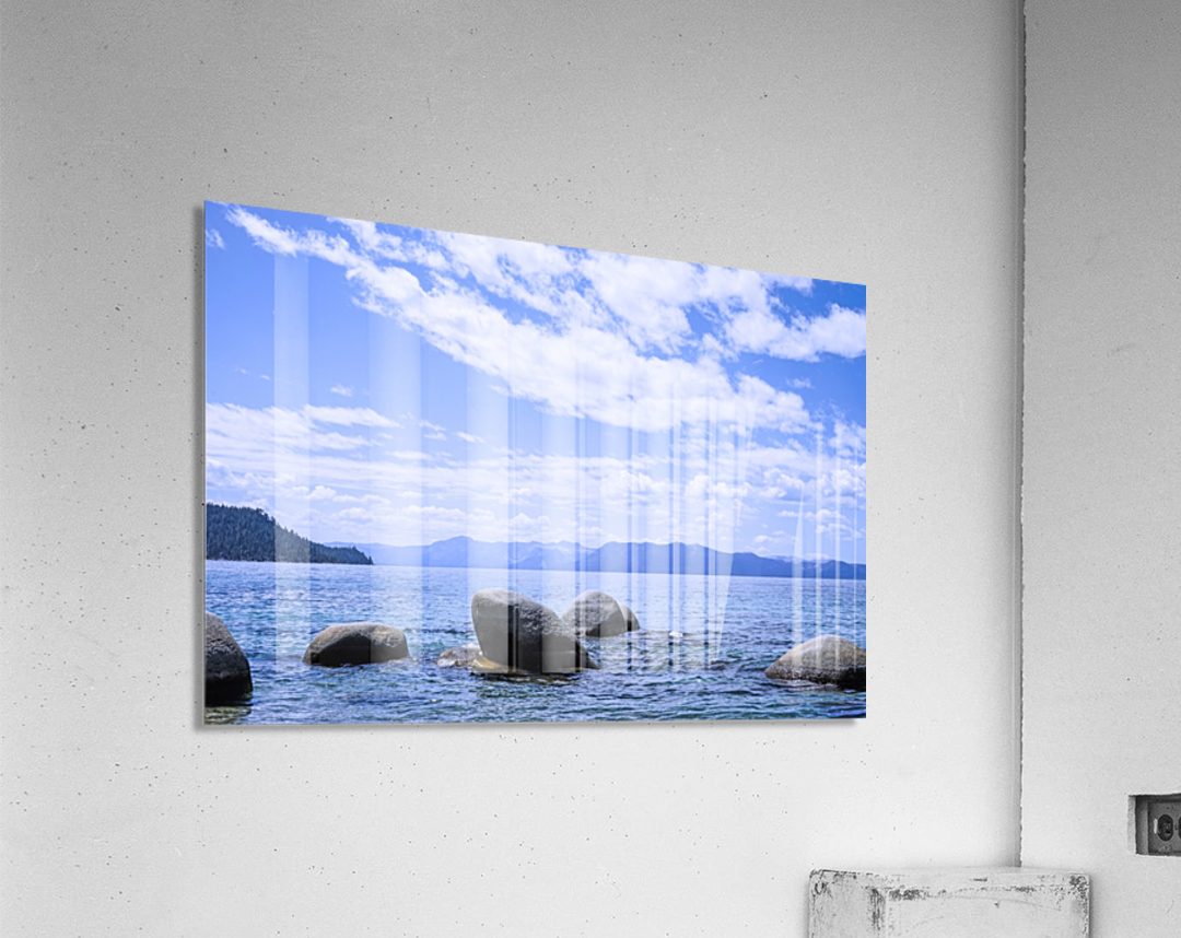 Perfect Day at the Lake - California  Acrylic Print