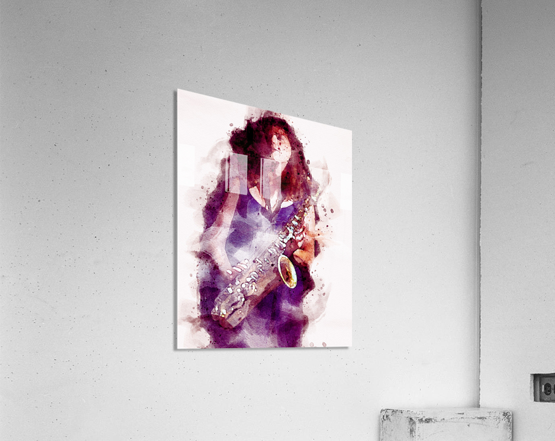 Blues In The Night  Acrylic Print