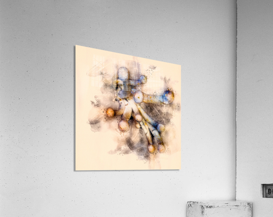 Tasty Mushroom Abstract  Acrylic Print