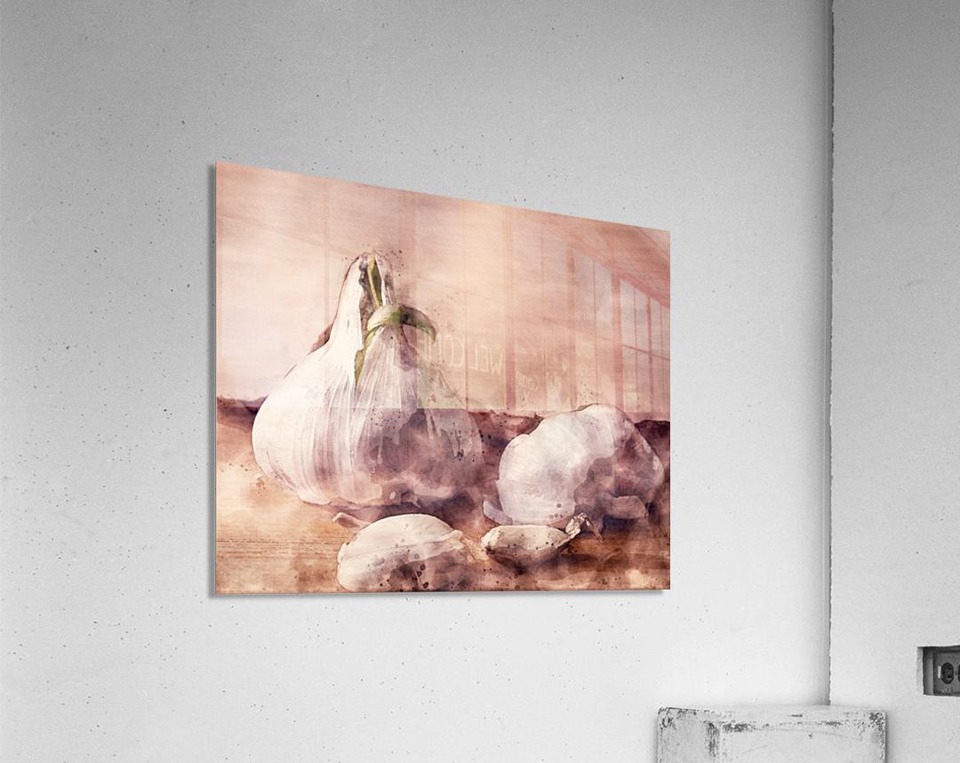 Garlic In The Kitchen  Acrylic Print
