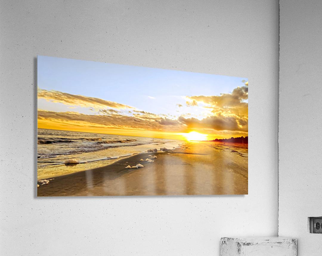 The Summer Sun Sets in the Carolinas  Acrylic Print