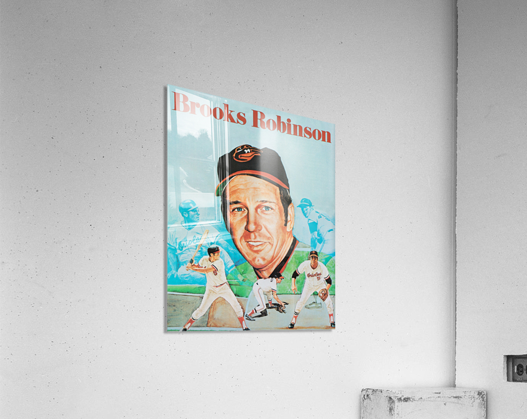 1974 Brooks Robinson Poster  Acrylic Print