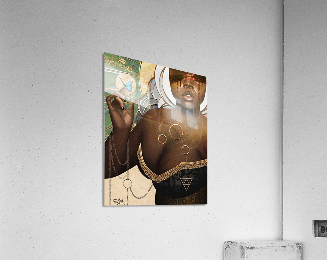 She Who Laments  Acrylic Print