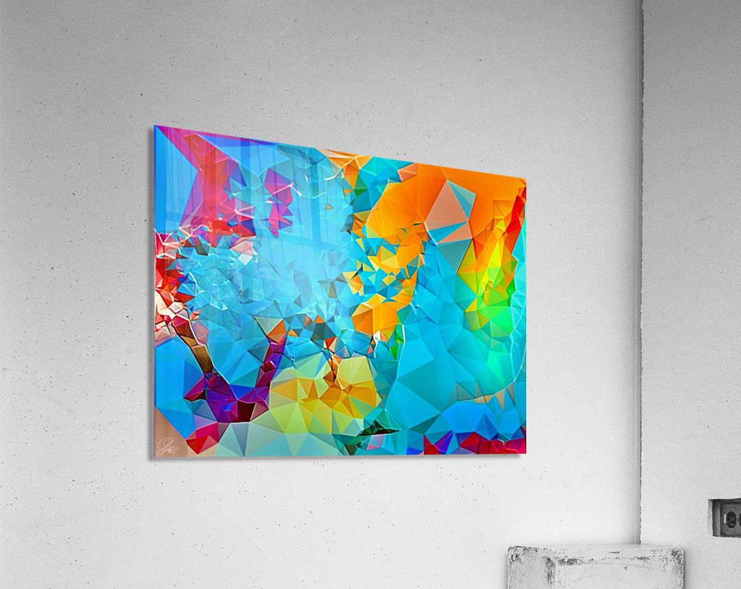 Berry Lush Blooms  Acrylic Print