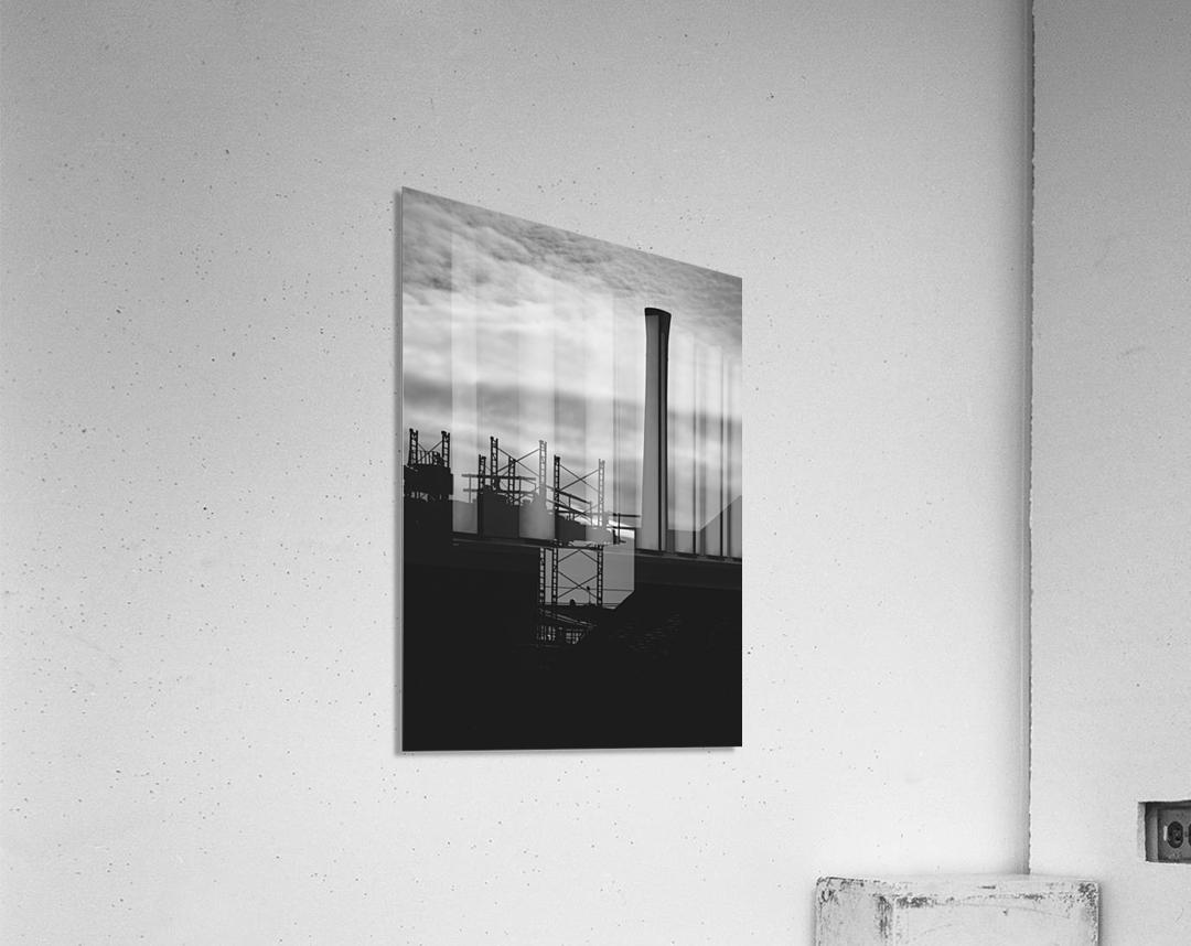 Smokestack Number Three  Acrylic Print