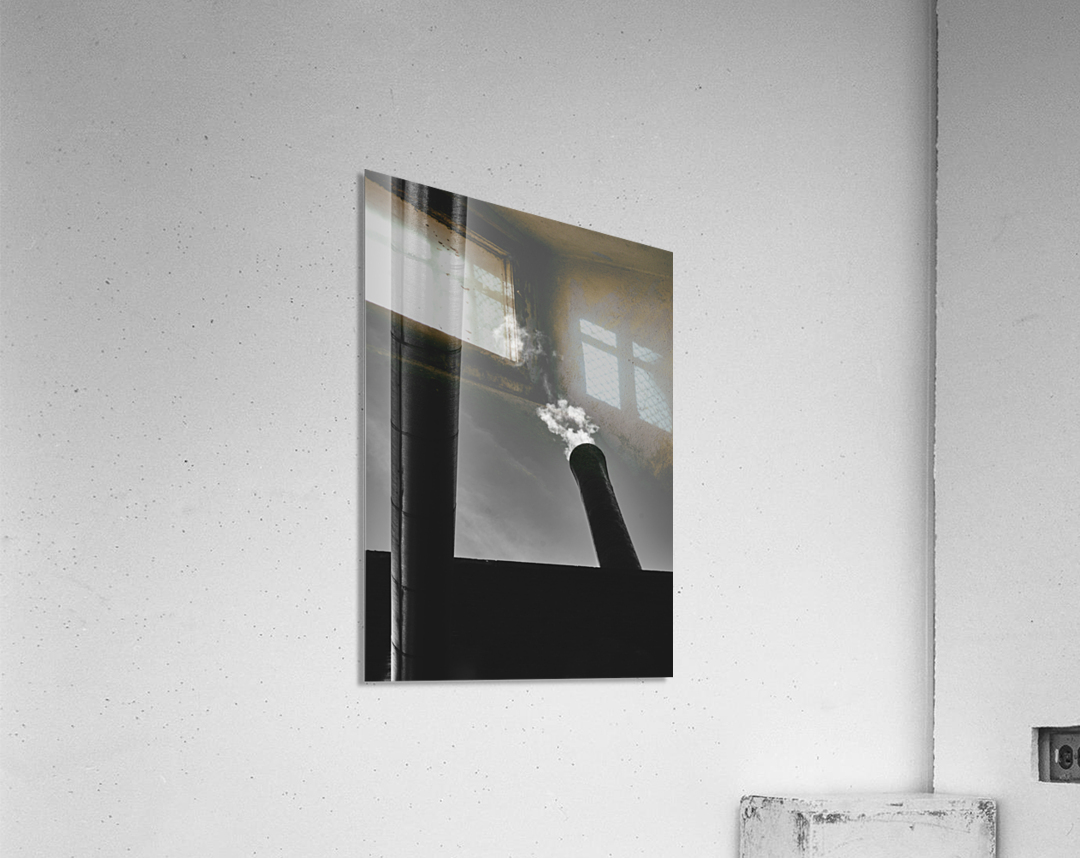 Smokestack Number Six  Acrylic Print