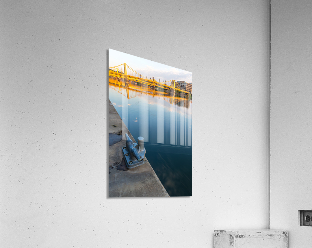 Barge Cleat ap 2877  Acrylic Print