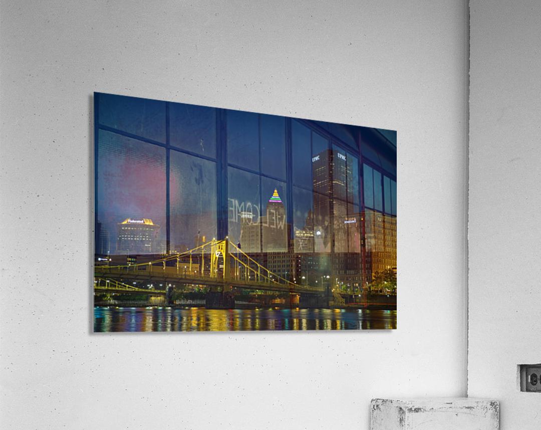 Roberto Clemente Bridge ap 2870  Acrylic Print