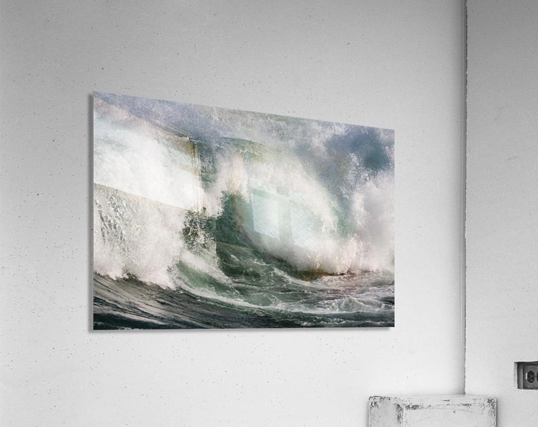 Wave Curl ap 2674  Acrylic Print