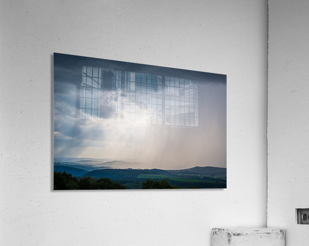 Moving Storm ap 2903  Acrylic Print
