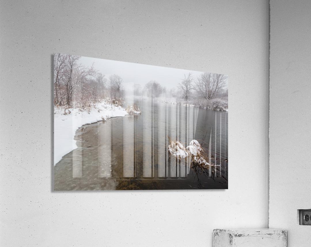 Snow Storm ap 2710  Acrylic Print