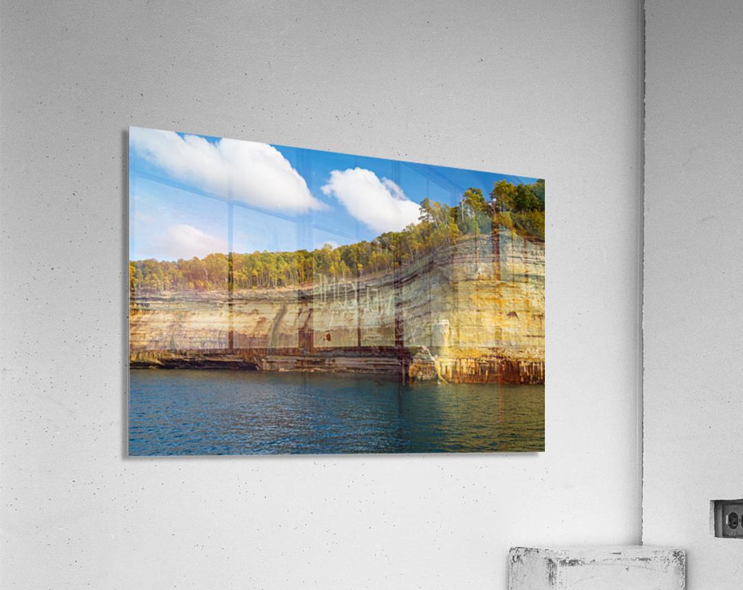 Water Colors ap 2492  Acrylic Print