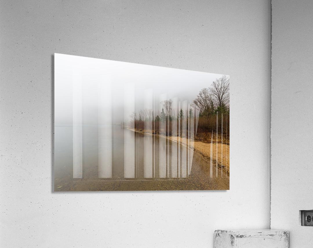Profile Lake ap 2192  Acrylic Print