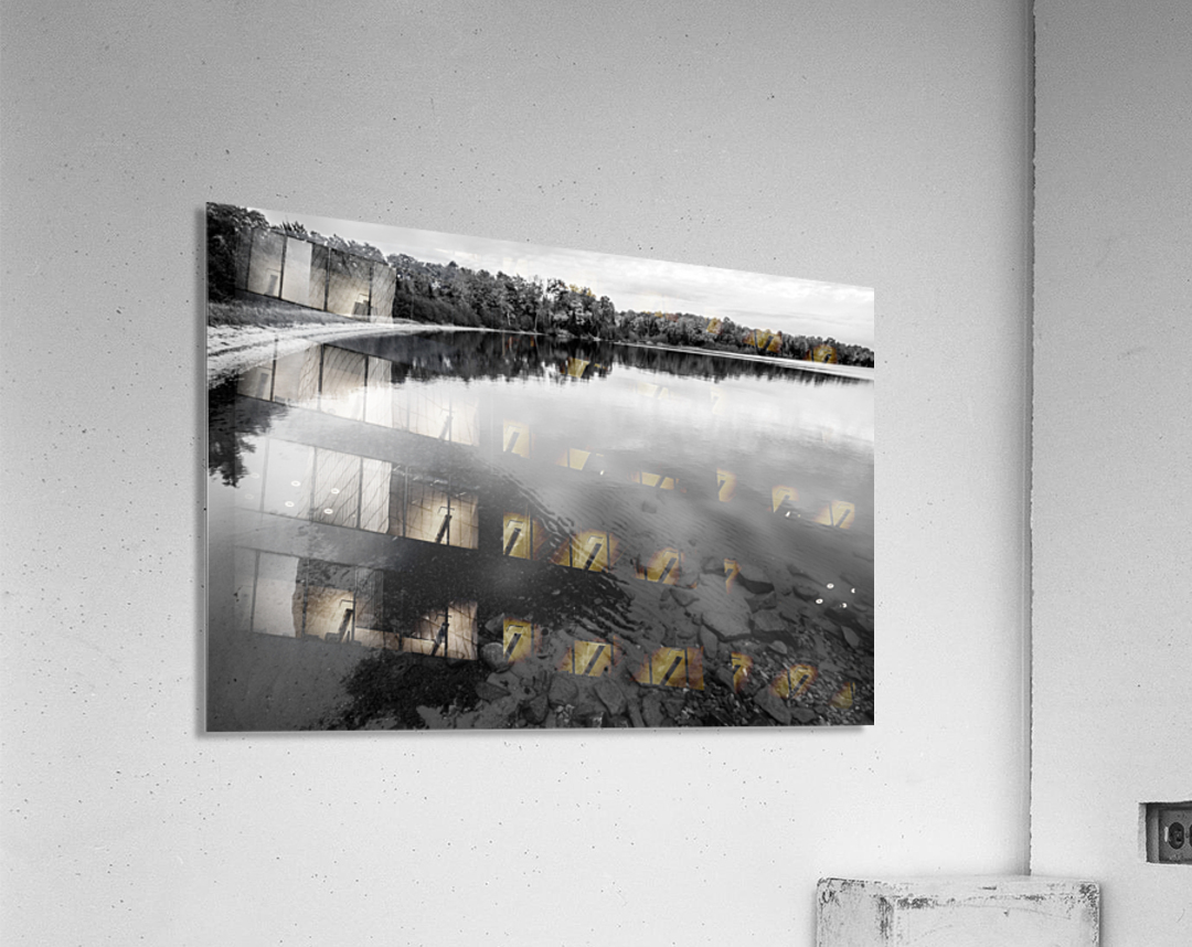 Reflection ap 2595 B&W  Acrylic Print