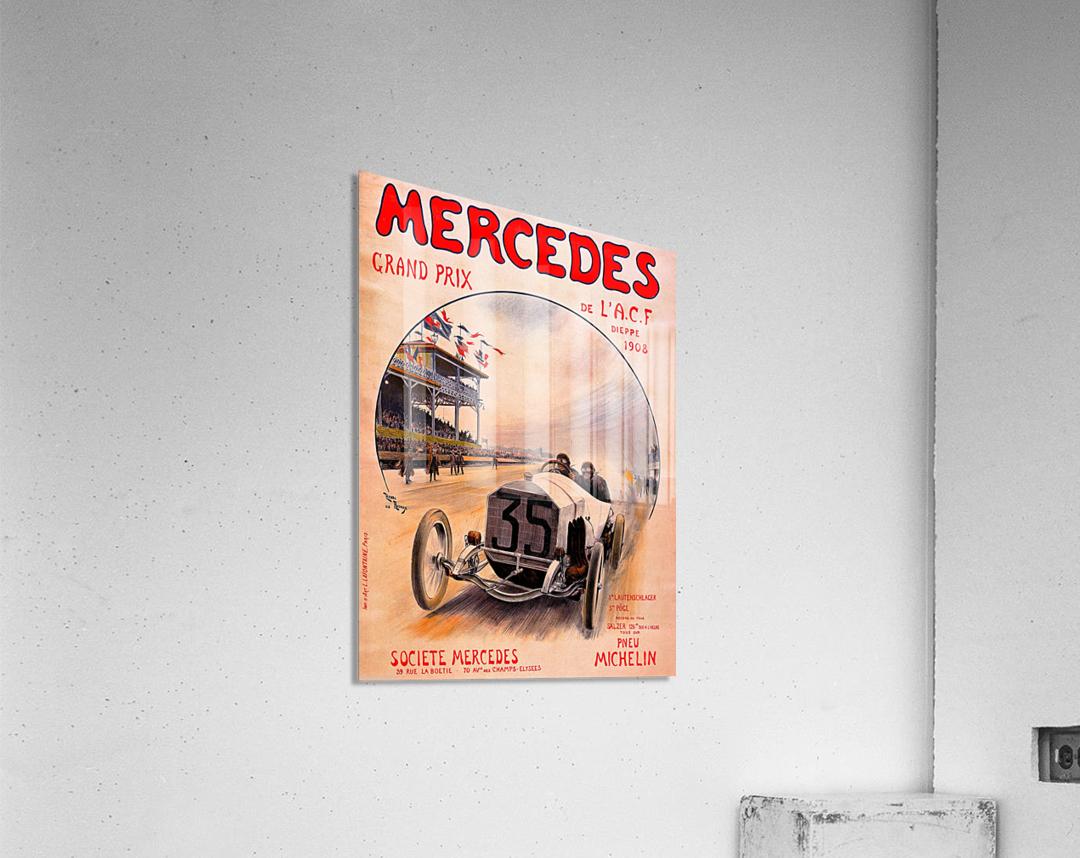 Mercedes Grand Prix  Impression acrylique