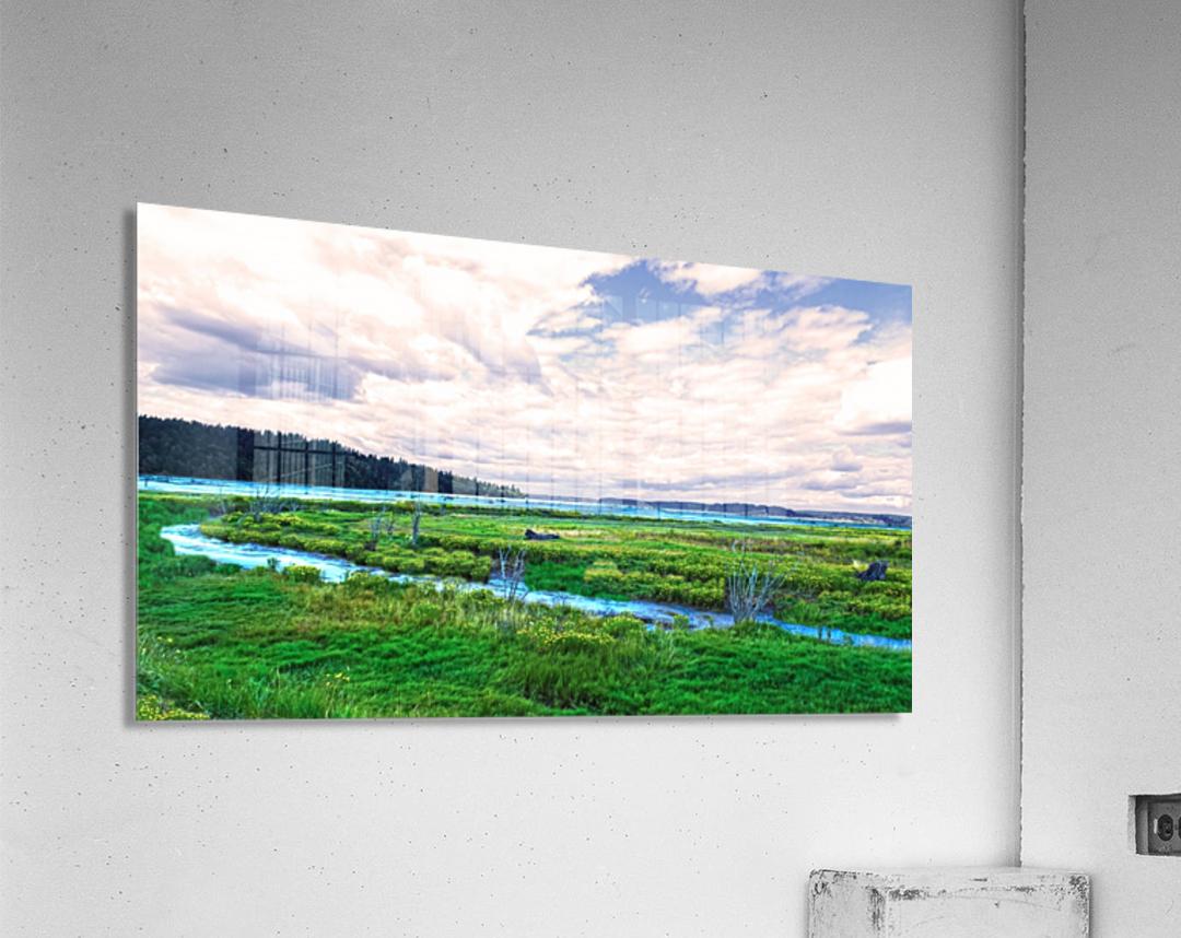 The Estuary in Fall  Acrylic Print