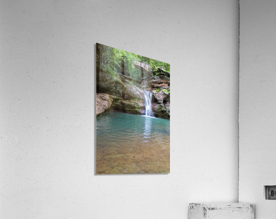 Upper Falls ap 2058  Acrylic Print