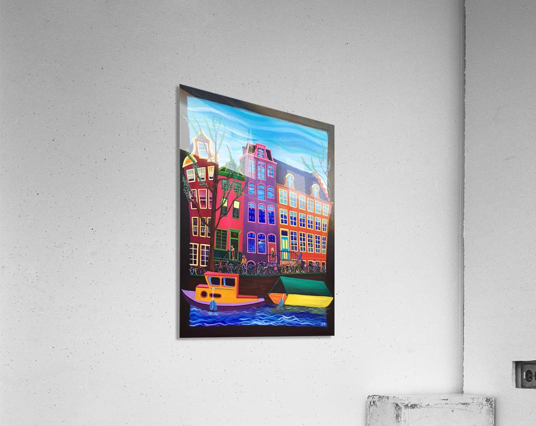 Amsterdam in November  Acrylic Print