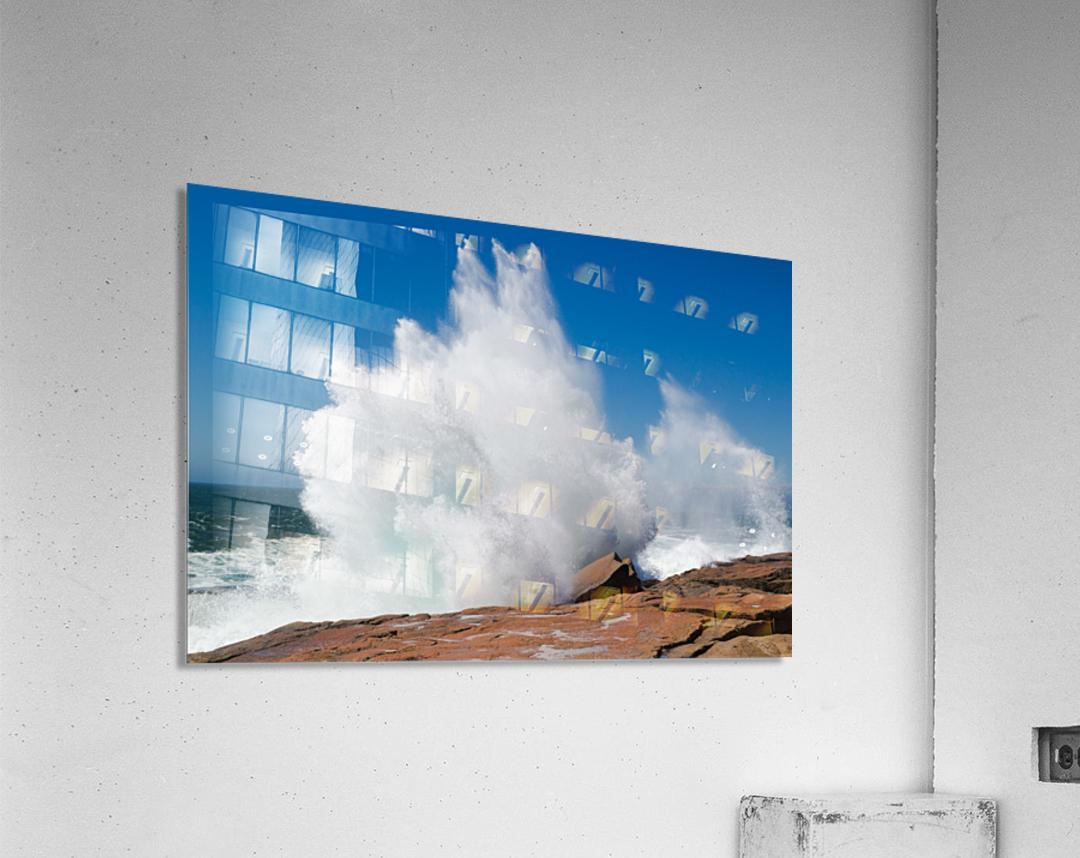 Crashing Wave ap 2320  Acrylic Print