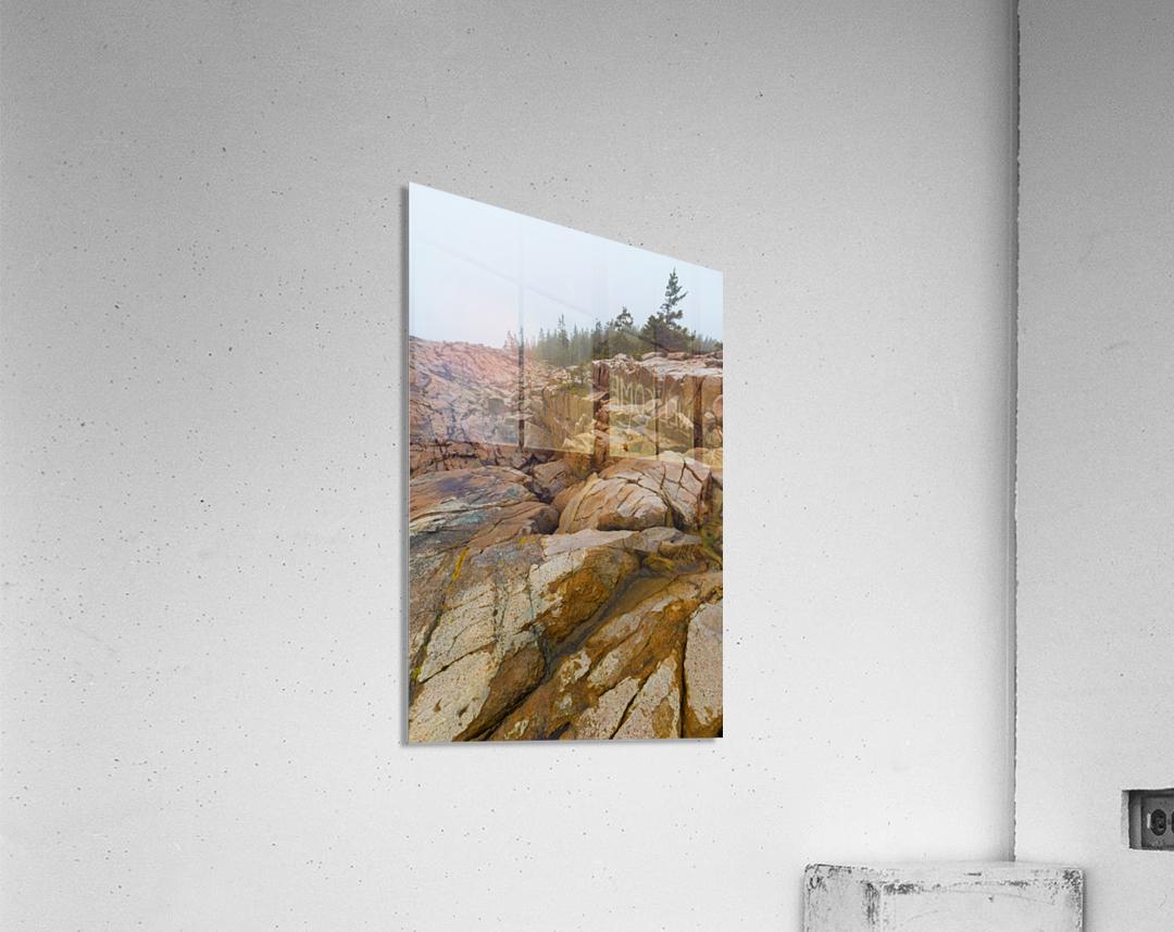 Granite Boulders ap 2270  Acrylic Print